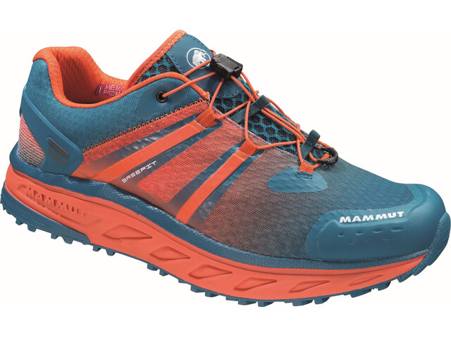 Mammut MTR 201-ll Max Low Shoes Herr dark pacific-dark orange